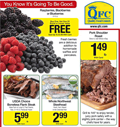 QFC weekly grocery circular