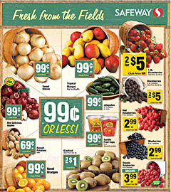 Safeway weekly grocery circular